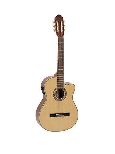 Chitarra classica amplificata con accordatore Dimavery CN-600