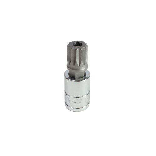 Capri Tools 30037 14mm XZN Triple Square Bit Socket with 1/2-Inch Drive