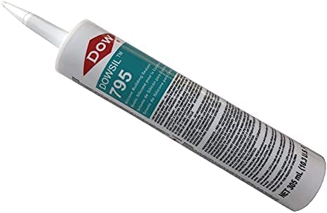 Dow Max 46% OFF Corning 795 Max 46% OFF Silicone Sealant 6 Cartridges - Black