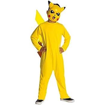 Disfraz de Pikachu para niño - 3-4 años: Amazon.es: Juguetes y juegos