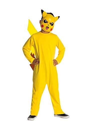 DISBACANAL Disfraz Pikachu Pokemon niño - -, 3-4 años: Amazon.es ...