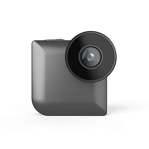 Mini cámara WiFi inalámbrica HD con mando a distancia y videocámara con visión nocturna, grabadora de video espía para interiores y cámaras inteligentes Wi-Fi de 1280 x 720P