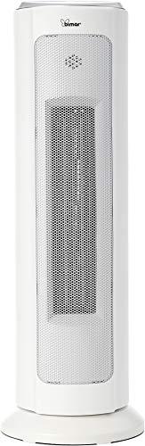 Bimar HP120 Stufetta Elettrica Bagno, Basso Consumo, Stufa Potente con Timer, Wi-Fi e App, Termoventilatore Elettrico da Casa, Ceramico