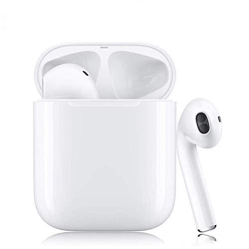 Auriculares Bluetooth 5.0 Auriculares Inalambricos Cascos Bluetooth Headphone Deportivos Estéreo con Mic y Cancelación de Ruido Caja de Carga - Auriculares Compatible con Android