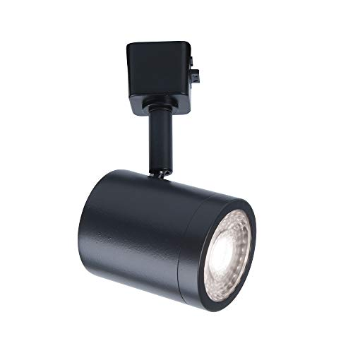 WAC Lighting L-8010-30-BK Charge Head LED Track Fixture, Pack of 1, Black