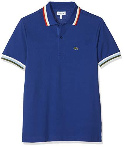 Lacoste Jungen Pj3318 Poloshirt, Blau (Capitaine X0u), 12 Jahre (Herstellergröße: 12A)