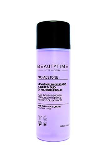 Beautytime nagellakverwijderende olie zonder aceton, per stuk verpakt (1 x 1 stuks).