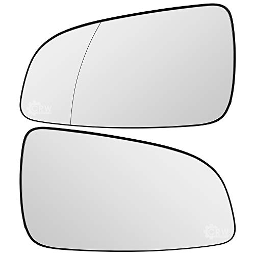 Spiegelglas Set für Astra H 04-09 Limousine Caravan rechts & links Satz