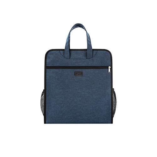 QSJY Bestand Kasten Waterdichte materialen tas, handtas, professionele kantoorcapaciteit 33x36x8cm
