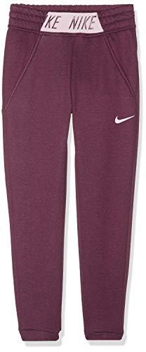 Nike Mädchen G NK Studio Pants, Bordeaux/Htr/pink Foam/pink f, S