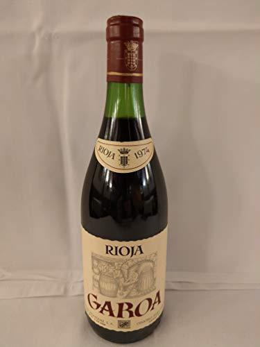 Garoa Tinto Crianza 1974. Botella de Vino de La Rioja