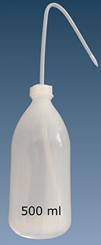 Spritzflasche, Enghalsflasche PE rund incl Spritzaufsatz (500 ml)