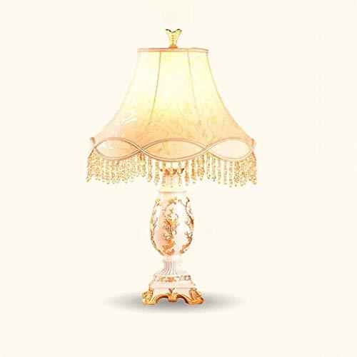 Lámpara de mesa de Hyy-yy, Personality, sencilla lámpara decorativa para salón, dormitorio, lámpara de mesita de noche, E27 o E14