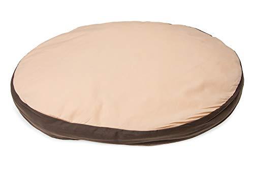 Karlie Flamingo Coussin Oval, Doc Bed 90 X 66 X 10 cm Beige/Marron