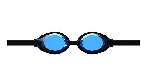 arena(アリーナ) 水泳 ゴーグル グラス ジュニア クッションタイプ フリーサイズ AGL-710JM ブルー×ブラック×スモーク×ブラック(BUBK) くもり止め ミラー加工