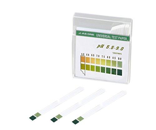 アズワン pH試験紙 スティックpH5.5-9.0 /1-1267-05