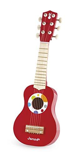 Janod - Mi primera guitarra de juguete, Confetti (J07628)
