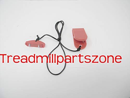 TreadmillPartsZone Replacement for Bowflex Treadclimber Model TC 100 Safety Key Part 8007039