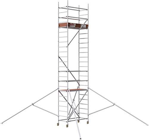 ALTEC Rollfix 2.0 700, Arbeitshöhe 7 m neu, inkl. Rollen (Ø 125 mm) und 4 Dreieckausleger