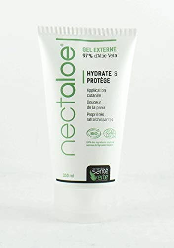 Nectaloe Gel externe BIO 97% aloe vera - Lot de 2 x 150 ml