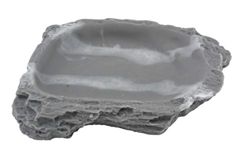Lucky Reptile Water Dish Granit, Wassernapf oder Futternapf für Reptilien und andere Heimtiere