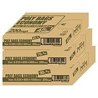 オルディ ポリ袋エコBOX90L乳白半透明PBE-W90-200