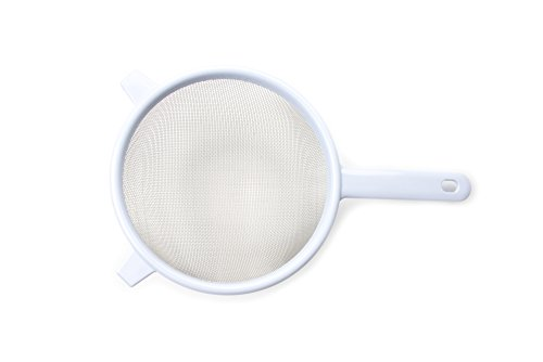 Farm to Table 5884 Strainer, 7-Inch, Stainless Steel Mesh with Plastic Handle