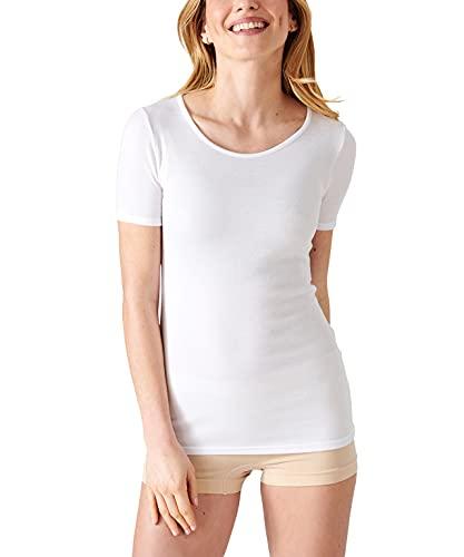 Damart - Lot De 2 Tee-Shirts en Maille Interlock