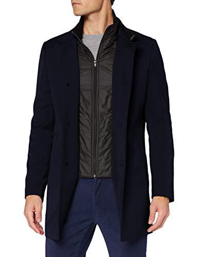 CINQUE CILIVERPOOL Wollmischungs-Mantel, Herren, Blau 102
