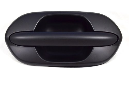 PT Auto Warehouse HO-3613P-RR - Outside Exterior Outer Sliding Door Handle, Primed Black - Passenger Side Rear