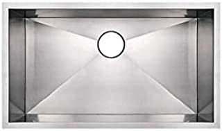 Frigidaire FPUR1519-D10 13-Inch by 17-1/16-Inch by 10-Inch Undermount 16-Gauge Stainless Steel Sink
