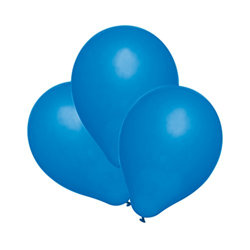 Susy Card 40011318 - Luftballons, 25er Packung, blau
