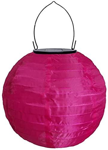 Farolillos LED solares para exterior, 20 cm, forma de bola, IP55, resistentes al agua, para jardín, iglesia,...
