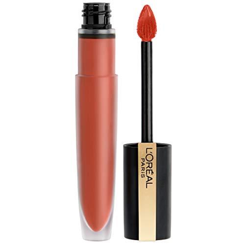 Labial Líquido Matte Rouge Rule marca L'Oreal Paris Cosmetics