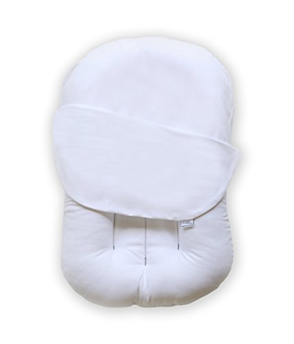 Snuggle Me Original | Patented Sensory Lounger for Baby | Cotton (Conventional), Virgin fiberfill