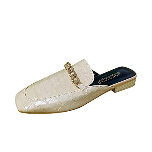 Fomino Dames mode enkele schoenen lichte platte schoenen vrijetijdsschoenen stoffen schoenen ademende wandelschoenen espadrilles outdoor fitness wandelschoenen canvas sneakers, beige, 37 EU