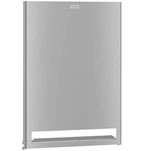 Franke Exoss. Verwisselbare fronten voor de handdoekrollendispenser verkrijgbaar in 3 varianten