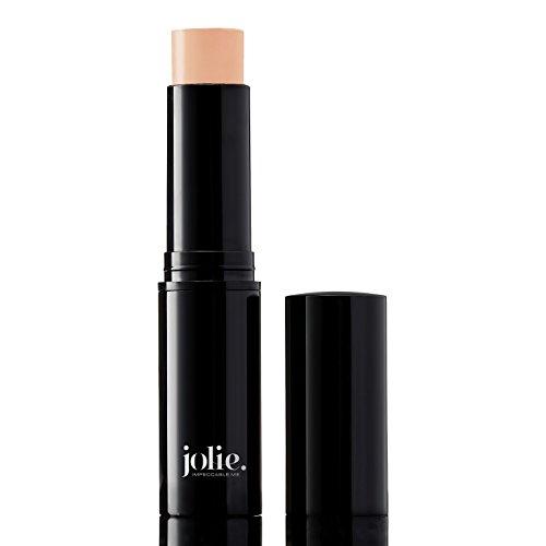 Jolie Ultra Longwear Skin Foundation & Concealer Stick - Vegan, Paraben & Cruelty Free (Natural Beige)