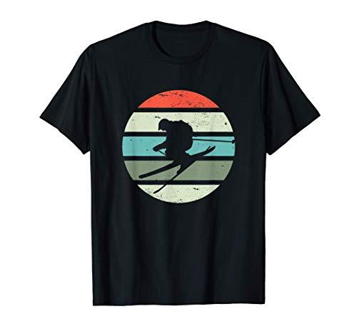 Vintage Ski I Wintersport I Rennsport Skifahrer I Retro Ski T-Shirt