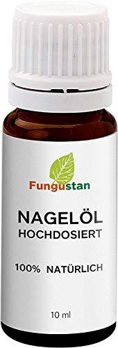 Fungustan Nagelöl | Hochdosiert | Teebaumöl | Stärkt Nägel, 10 ml | 1 Flasche