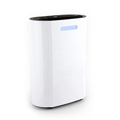 Klarstein AeroDry 10 Luftentfeuchter - Luftreiniger, Raumentfeuchter, 265 Watt, 10 Liter/Tag, 135 m³/h, für Räume bis 25 m², programmierbar, DrySelect, nur 37 dB, Timer-Funktion, weiß