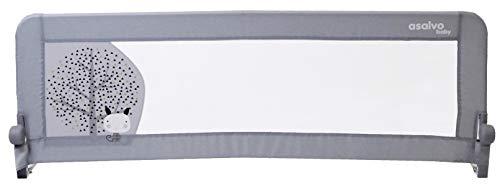 Barrière de lit 2 en 1 Baby Fox 'Nordique' 150 cm - Gris