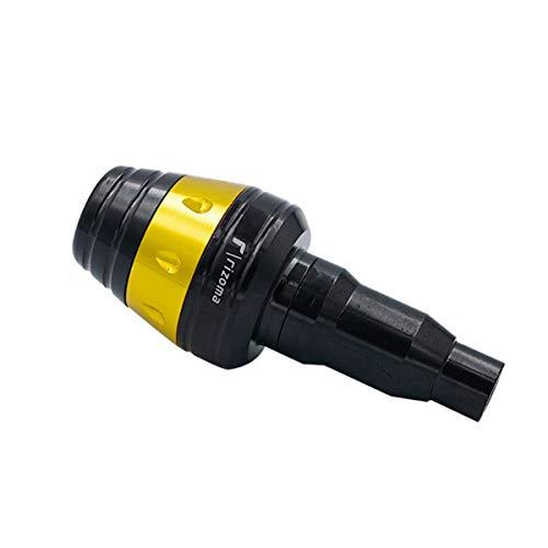 BingWS Zubehör Änderung ZubehörMotorrad Aluminiumlegierung Anti-Drop-Kleber, Elektro-Motorrad Motorradzubehör (Color : Yellow)