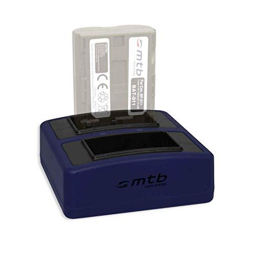 Cargador Doble Compact (USB) BP-511 para Canon EOS D30 D60. / Powershot...