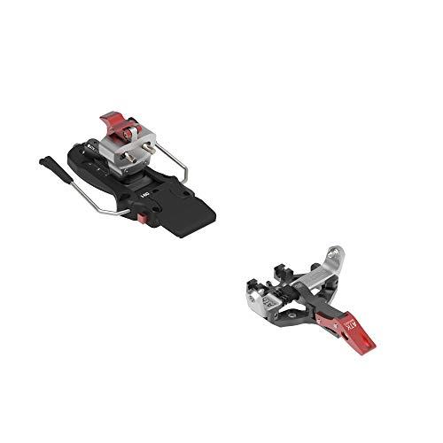 ATK Bindings Binding Crest 10-97 - Fijaciones de esquí de travesía, talla única, color negro, blanco y rojo