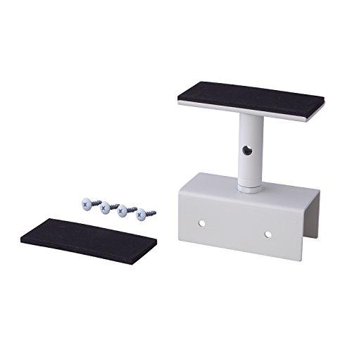 平安伸銅工業 LABRICO DIY収納パーツ 2×4アジャスター アイアン 屋外使用可 ホワイト IXO-1