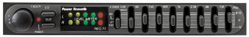 7-Band Equalizer/Pre-Amp