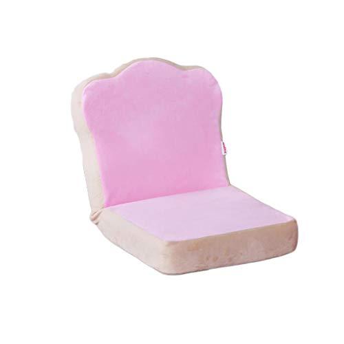 NXYJD Mini sofá perezoso, individual plegable, respaldo de cama, dormitorio, ventana de bahía, sofá pequeño