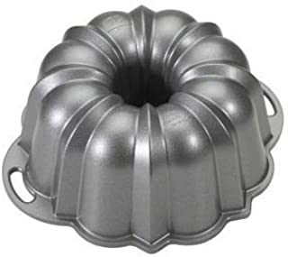Nordic Ware Platinum Collection Nonstick Cast Aluminum Anniversary 12 Cup Bundt Pan