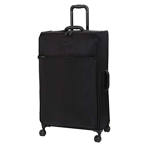 it luggage 32' Lustrous Softside Expandable Spinner, Black